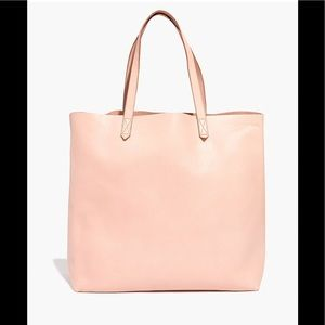 madewell transport tote sheer pink BNWT